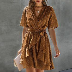 Little Bohemian Short Sleeve Dress