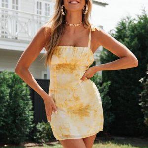 Sexy Hippie Short Dress