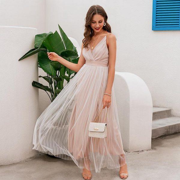 Bohemian chic summer dress