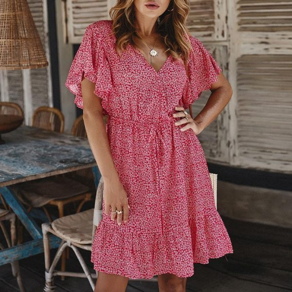 Bohemian Summer Girl Dress