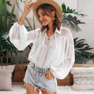 Bohemian Tunic Woman White