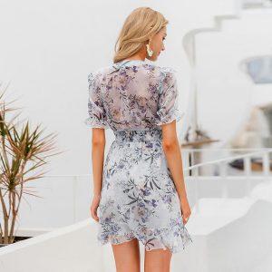 Sexy Bohemian Floral Dress