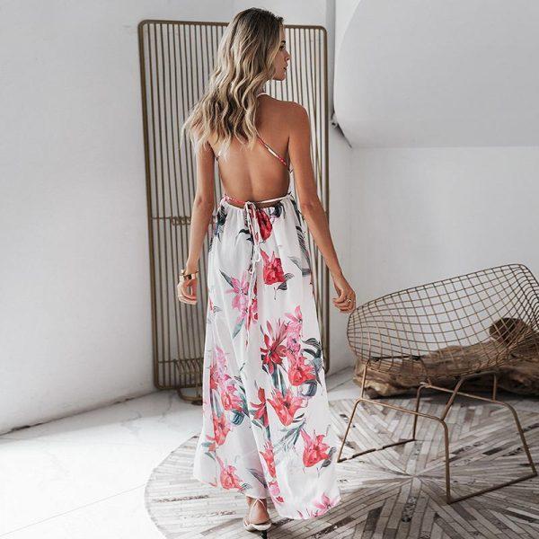Bohemian Chic Beach Dress