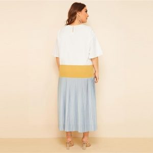 Dress boho big size