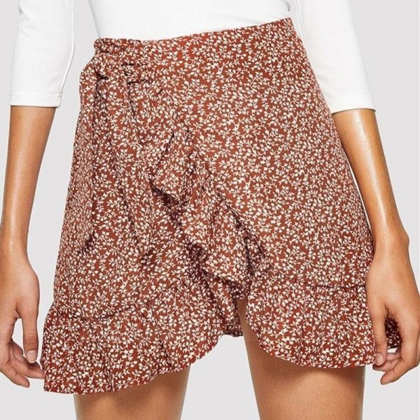 Bohemian chic skirt woman