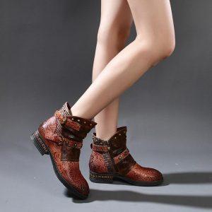 Bohemian Cow Boy Boots