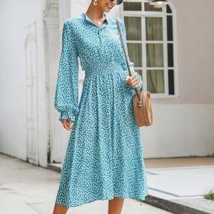 White maxi bohemian dress