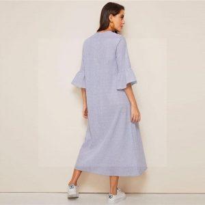 Bohemian dress with sleeve