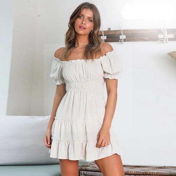 Bohemian chic summer dress 2018
