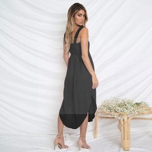 Bohemian chic dress for evening