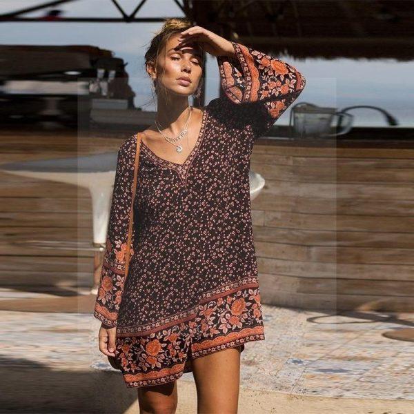 Hippie retro dress