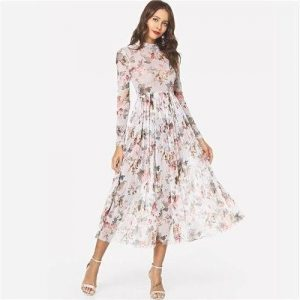 White hippie bohemian maxi dress